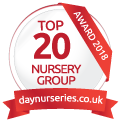 Clarence House Nurseries awarded Top 20 Award by DayNurseries.co.uk in 2018