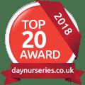 DayNurseries.co.uk Top 20 2018 Award