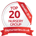 Daynurseries.co.uk website awared Clarence House Nurseries top 20 award in 2019