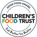 Clarence House Nurseries awarded Good Food Award by Children's Food Trust